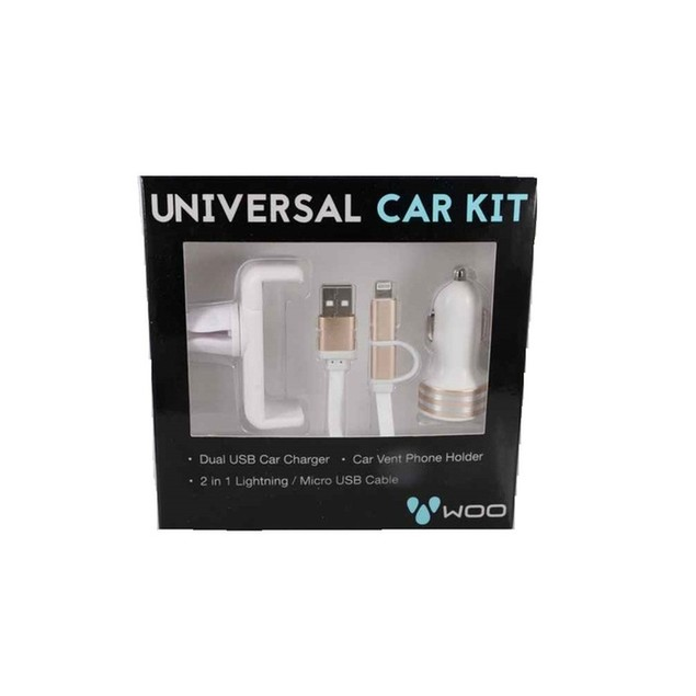 3 Piece Universal Car Charging Kit