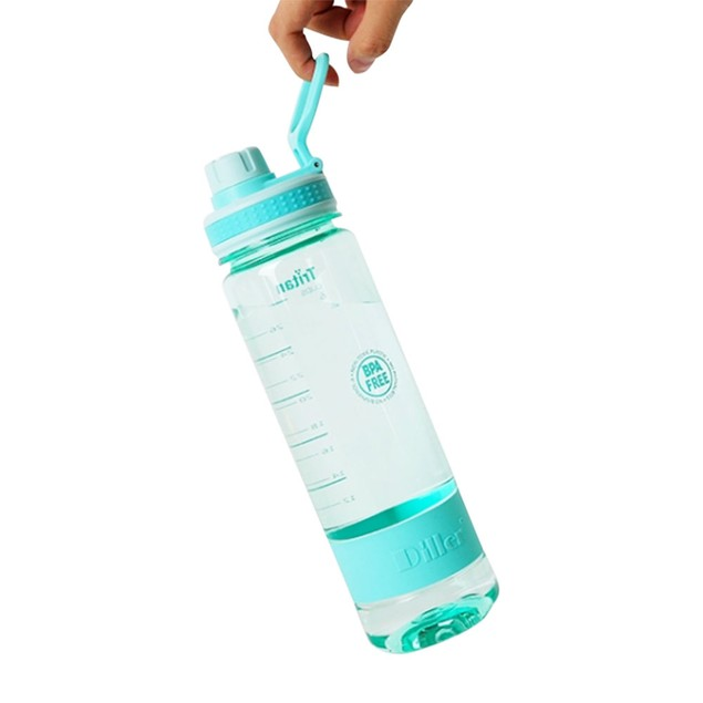 Time Marked BPA Free Water Bottles - 2 Colors