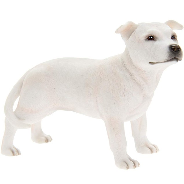Staffordshire Bull Terrier Figurine By Lesser and Pavey