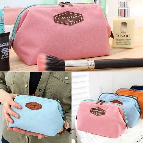 Portable Cute Multifunction Beauty Travel Cosmetic Bag Makeup Case Pouch Toiletry Buy1Get1