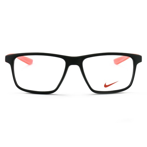 Nike Women's Eyeglasses EV5002 002 Matte Black/Solar Red 51 15 130 Demo Lens