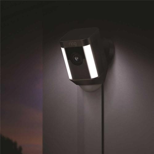 Ring Outdoor Camera & Spotlight Security Camera Wired -  BLACK