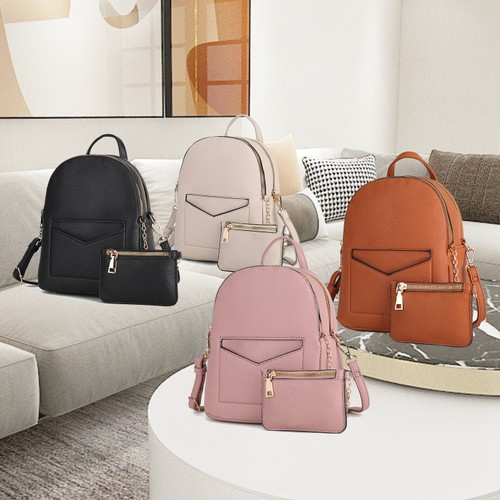 MKF Collection Magnolia Convertible Backpack by Mia K