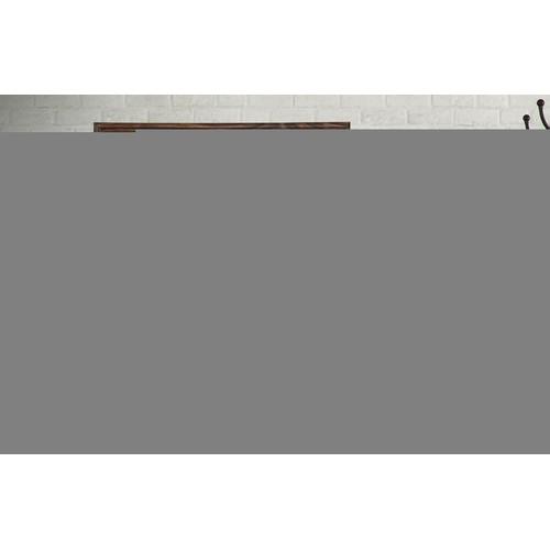 "BrandtWorks Perfect Durable Rustic Espresso Wall Mirror - 21.5"" x 31.5"""