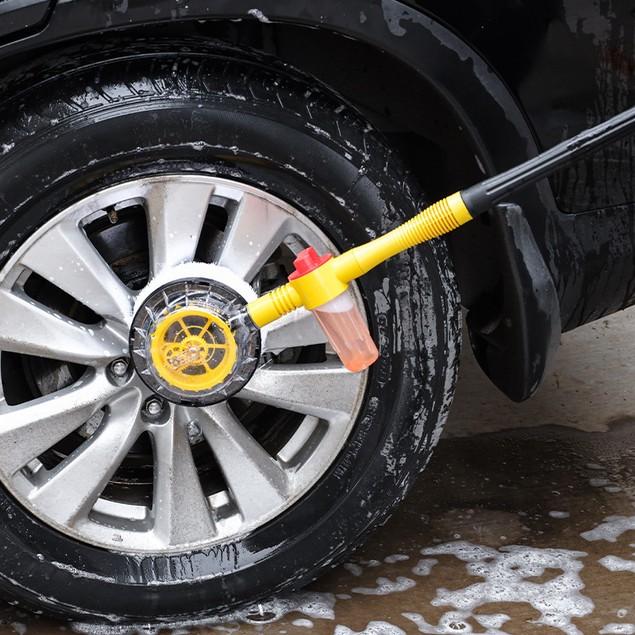 Home Car Dual-purpose Car Washing Automatic Rotating Car Washing Brush Car Cleaning Tool