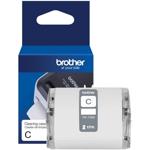 """Brothers Brother Genuine CK-1000~2 (1.97"""") 50 mm Wide x 6.5 ft. (2 m) Cleaning Roll for Brother VC-500W Label and Photo Printers"""