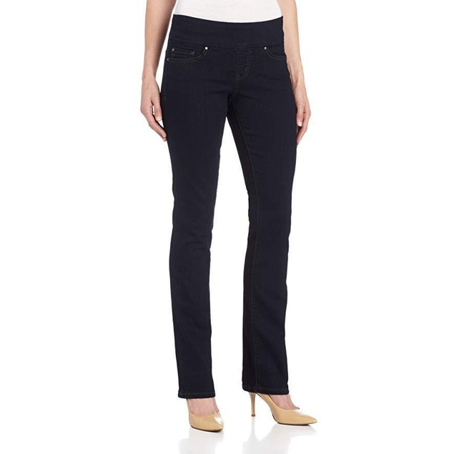 Jag Jeans Women's Paley Boot Pull on Jean, After Midnight, 6