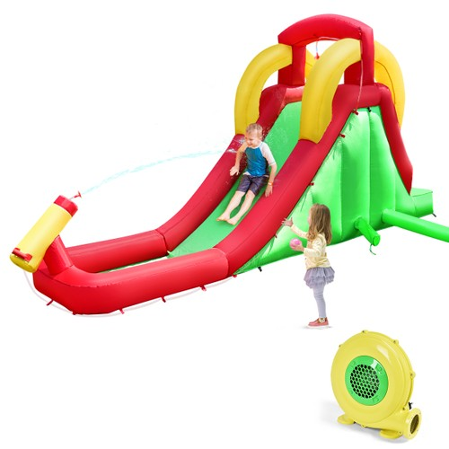 Costway Inflatable Water Slide Bounce House