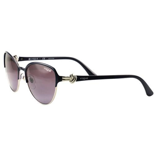Vogue Sunglasses VO4012-S 965/8H Dark Purple/Silver/Violet Plastic 55 18 135