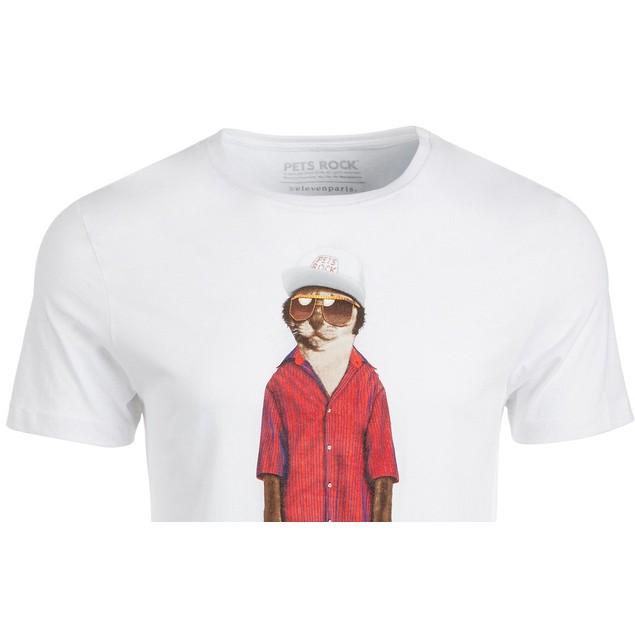 Mr. Mercury Men's Graphic T-Shirt White Size XX-Large