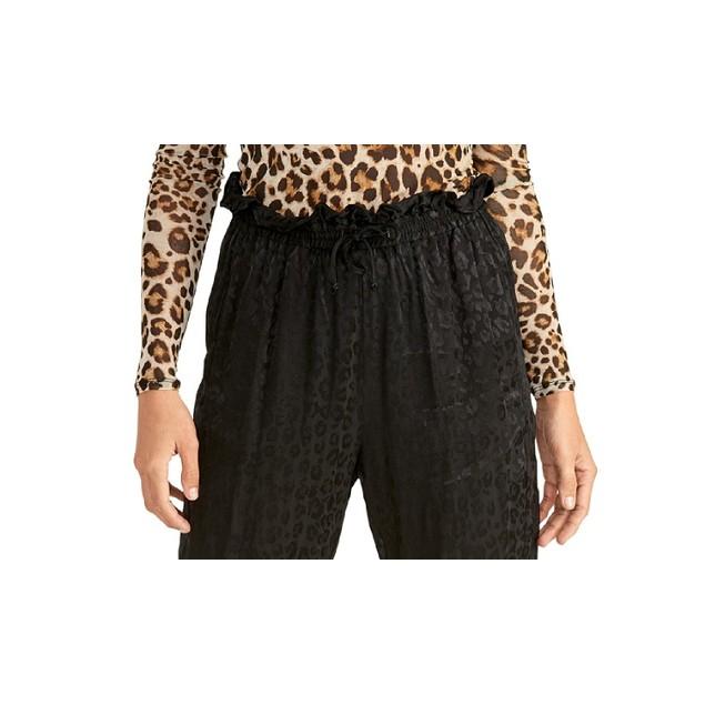 Rachel Roy Women's Shelle Pants Black Size Medium