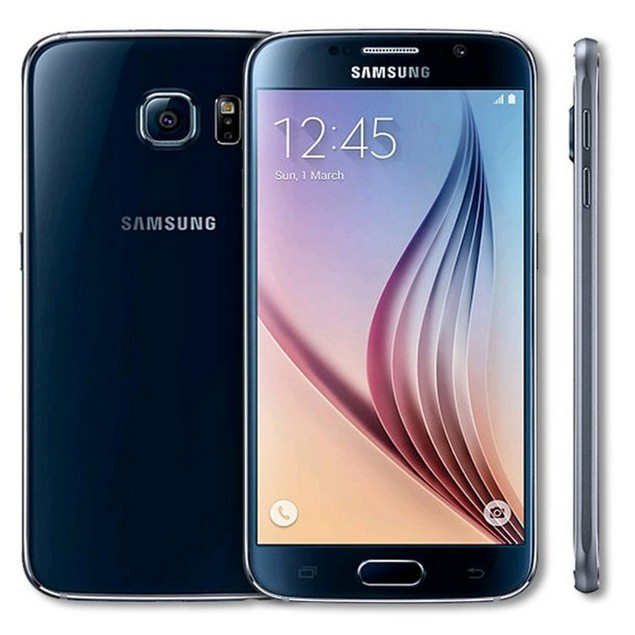 Samsung Galaxy S6, AT&T, Grade B+, Black, 32 GB, 5.1 in Screen