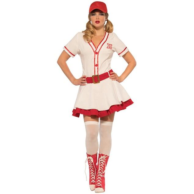 Baseball Sweetie Womens Costume