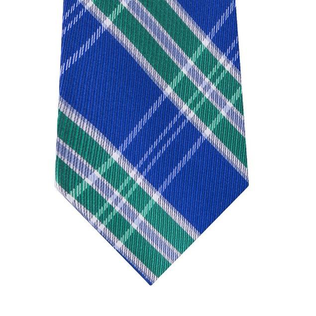 Tommy Hilfiger Men's Vincent Plaid Tie Green One Size