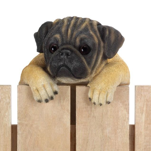"""Summerfield Terrace Climbing Pug """"Daisy"""" Decor"""