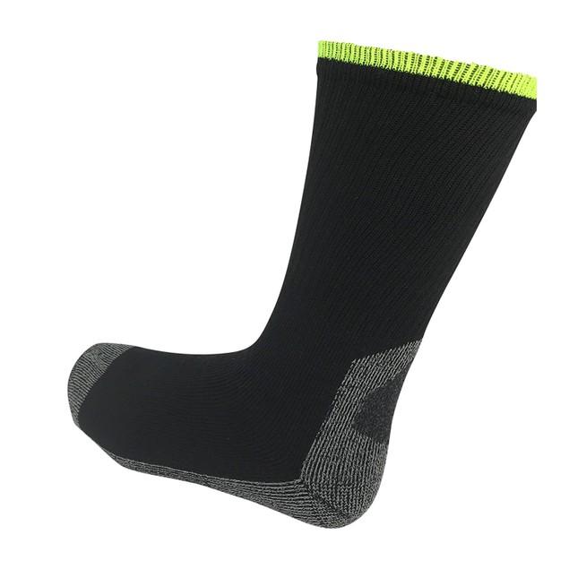(4-Pack) Men's Heavy Duty Job Site Thick Cushion Work Crew Socks
