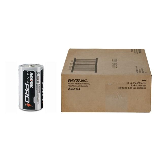 Rayovac Ultra Pro Alkaline D Batteries (1 Box - 72 Batteries) BULK