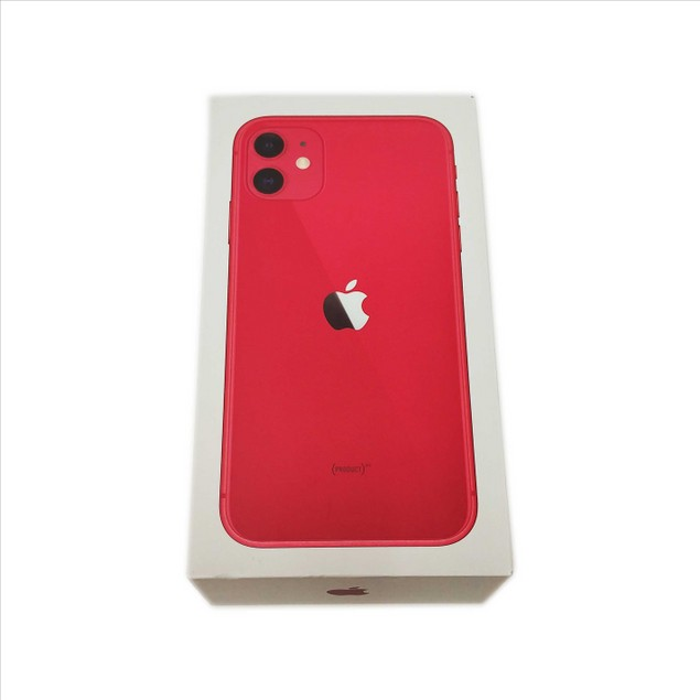 Refurbished A- Grade Apple iPhone 11 64GB A2111 Unlocked Phone  - Red
