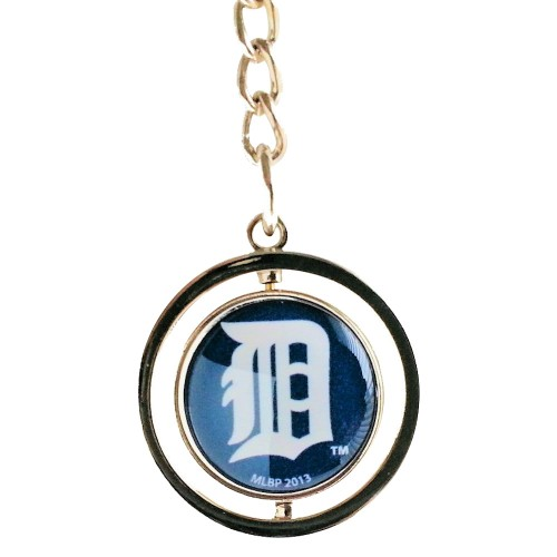 Cleanlapsports Detroit Tigers 3D Spinning Keychain
