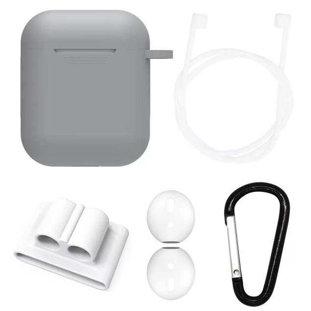 AirPods Case Cover and Accessory Pack (5-Piece)
