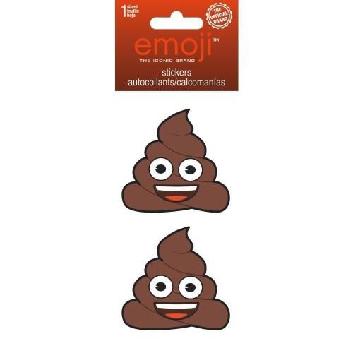 Emoji Poop Rhinestone Stickers Poo 2 Crap Emoticon Gift