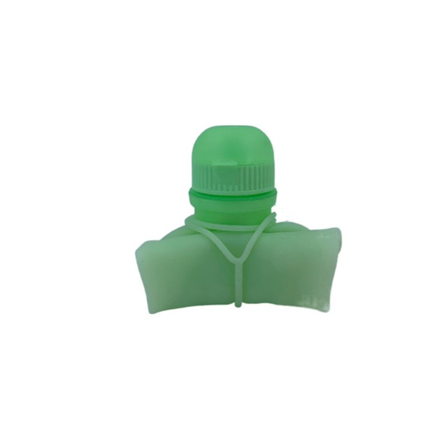 Silicone Water Cup Activity Gift System Portable Creative 500ml Telescopic Folding Sports Bottle