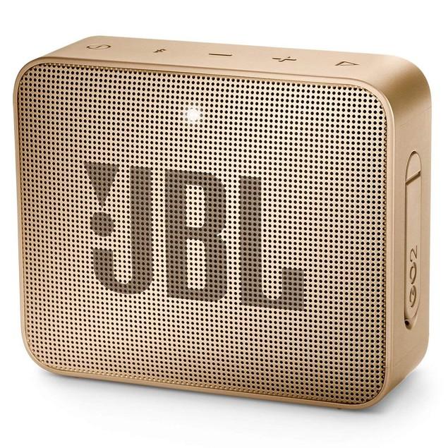 JBL GO 2 Portable Wireless Bluetooth Speaker - Champagne