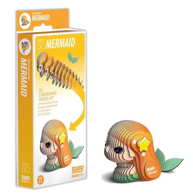 EUGY Mermaid 3D Craft Kit