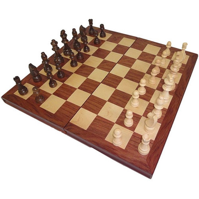 Large Wooden Chess Set, More Pop Culture by Go! Games