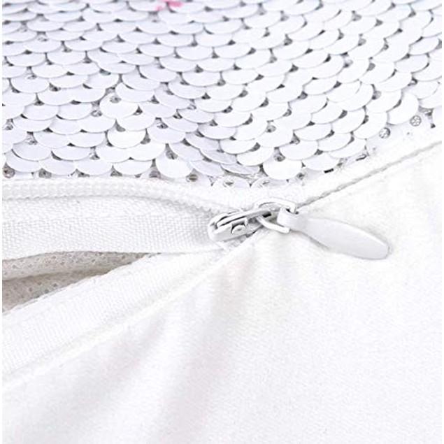"Sequins Decorative Cushion Covers 16"" x 16"" (40cm x 40cm) (GIVE ME A Hug)"