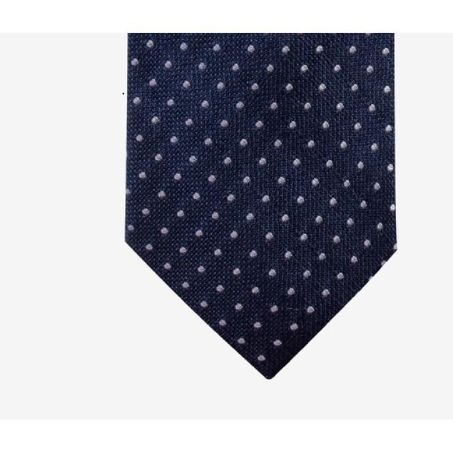 Club Room Men's Classic Dot Tie Blue One Size