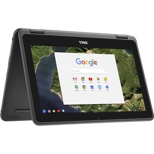 Dell Chromebook 11 - 3189 Intel Celeron N3060 4GB, Black (Refurbished)