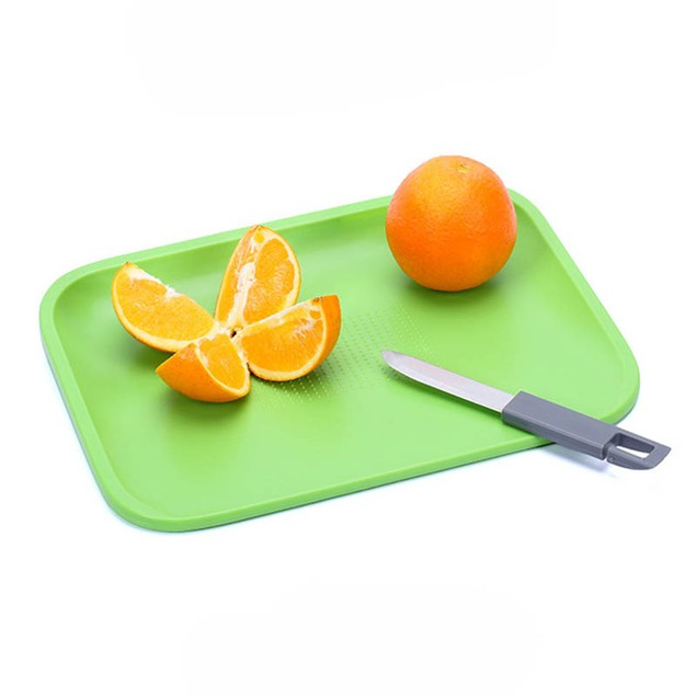 Non-Slip Cutting Board Set with Knife and 3x Mini Fork,BPA Free