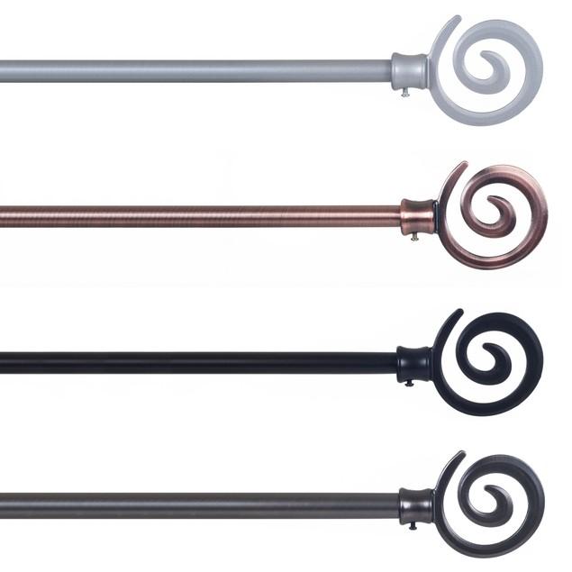 Spiral Curtain Rod