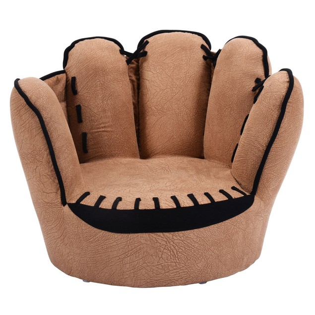 Kids Baseball Glove Sofa Chair