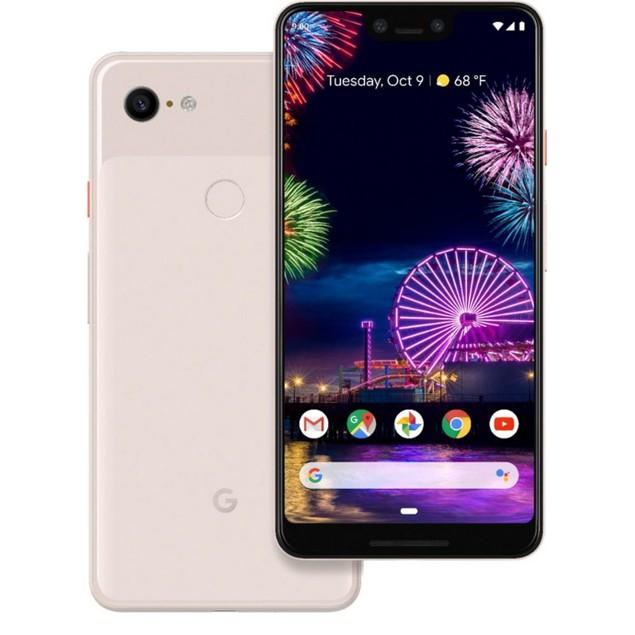 Google Pixel 3 XL, Unlocked, Grade A+, Pink, 64 GB, 6.3 in Screen