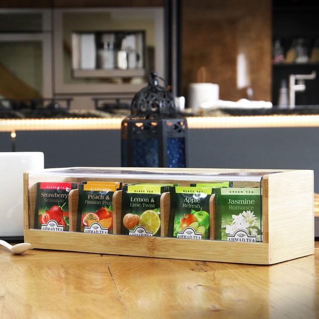 Bamboo Tea Storage Box | MandW
