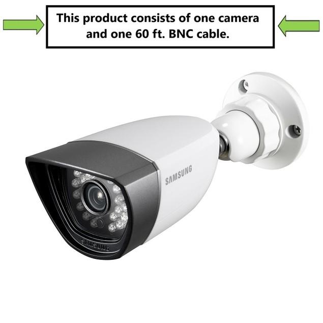 Samsung SDC-7340BC Weatherproof Night Vision Camera w/ 60 ft BNC Cable,