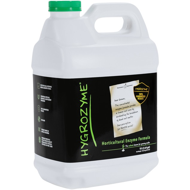 Hygrozyme Horticultural Enzyme Formula, 10 L