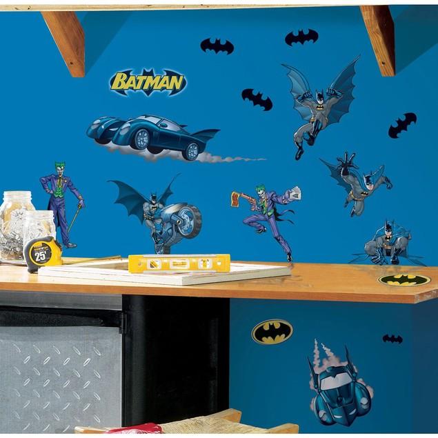 Roommates Nursery Baby Room Wall Decor Batman Gotham Guardian Wall Decals