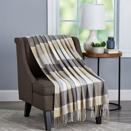 Soft Throw Blanket - Oversized, Luxuriously Fluffy, Vintage-Look