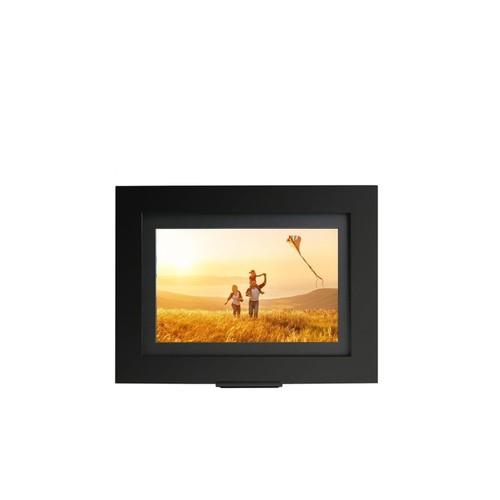 "Brookstone PhotoShare Smart Frame 8"", Black (Certified Refurbished)"