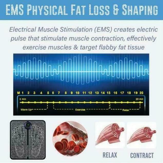 Electric Muscle Stimulator Foot Massager
