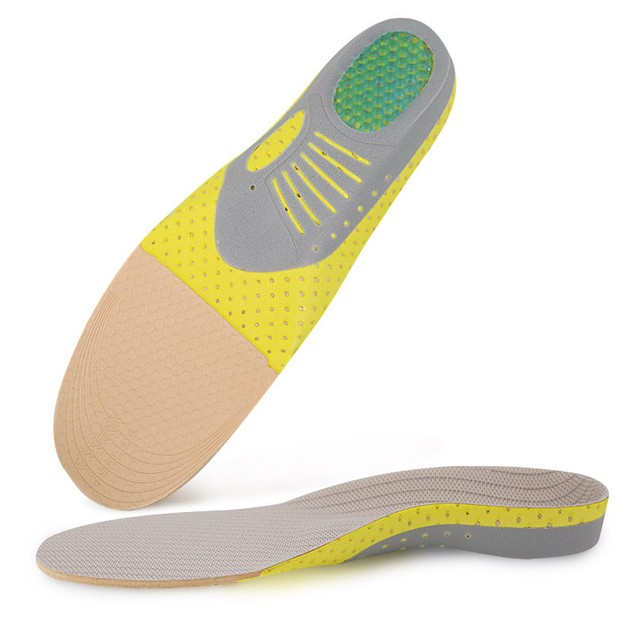 Arch Sports Insole Unisex Shock Absorption Sweat Basketball Running Shoes Correction Correction