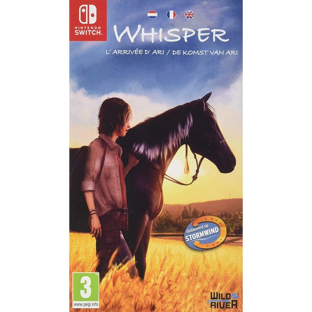 Whisper Ari's Arrival Nintendo Switch Game
