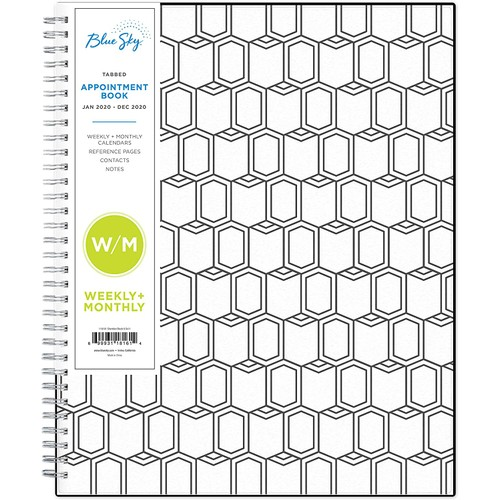 Blue Sky 2020 Appointment Book & Planner, 8.5 Inches x 11 Inches, Sheridan