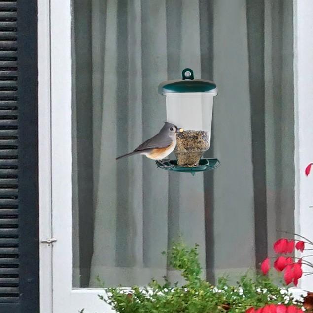 Pure Garden Window Bird Feeder