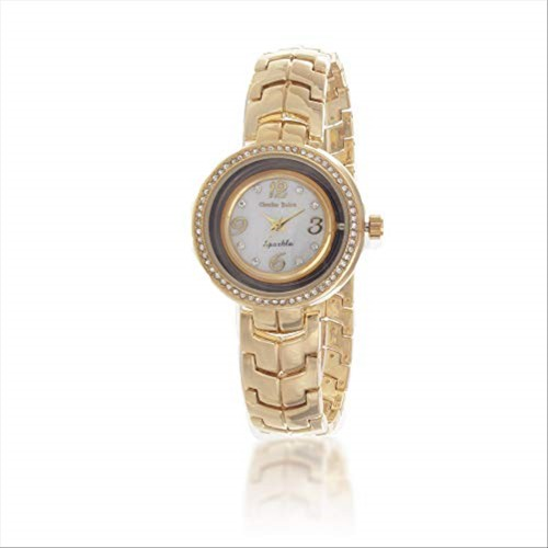 Charles Delon Women's Watches 5654 LGMW Gold/Gold Stainless Steel Quartz Round