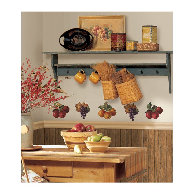 Roommates Nursery Baby Room Wall Decorative Fruit Harvest Wall Decals