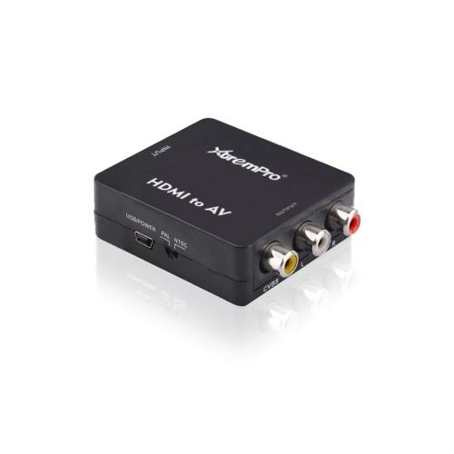 XTREMPRO 61085 HDMI TO CVBS CONVERTER BLACK